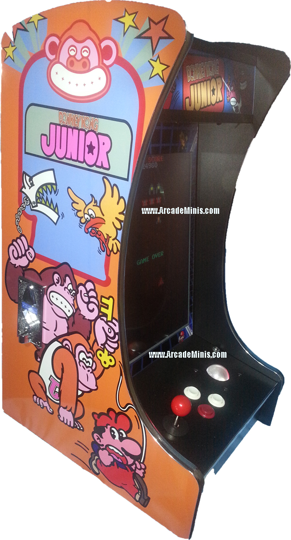 Donkey kong jr with tracball